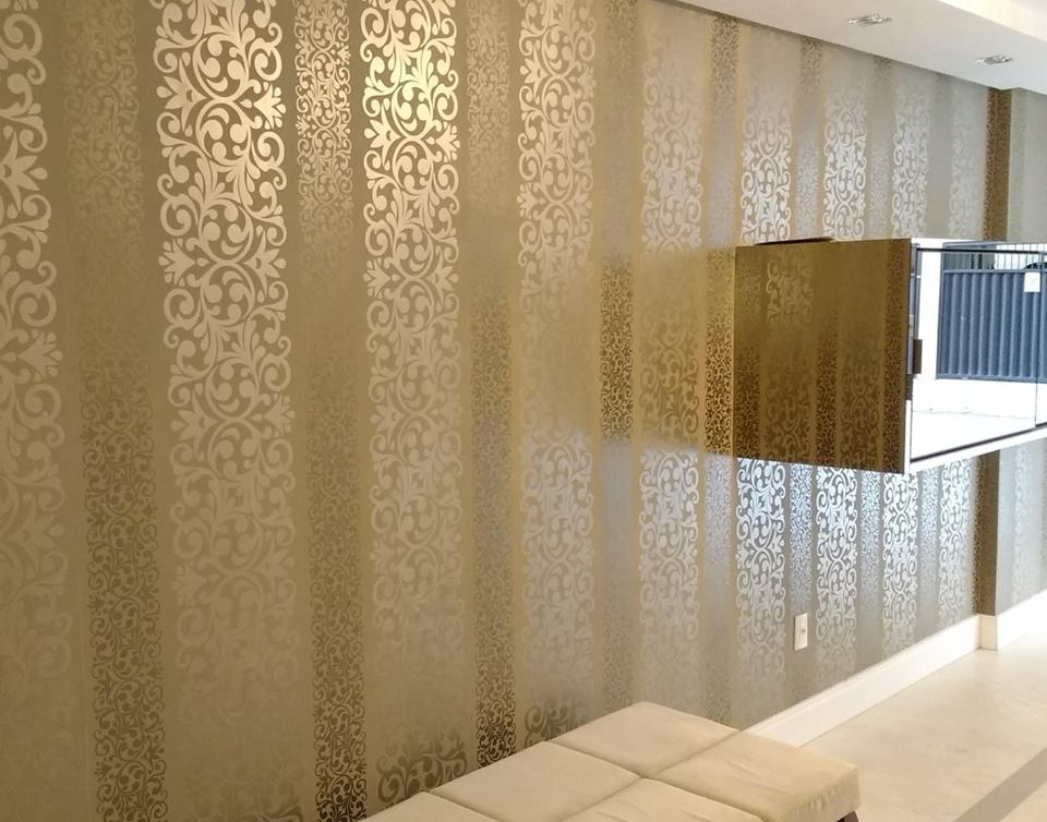 Cortinas e persianas casagrande porto belo itapema - Papel pared entrada ...